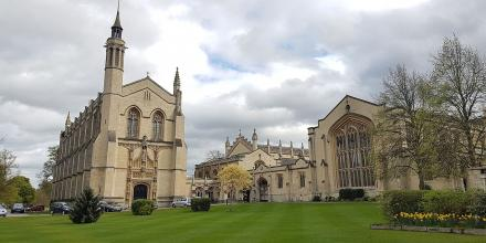 Cheltenham College chapel and library